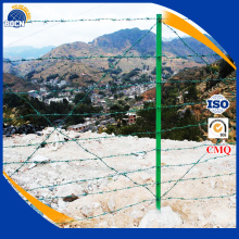 pvc coated barbed wire with low price