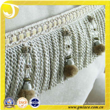 European Style Classic Lace Fringe Curtain Accessory Decorative Fringe Trim