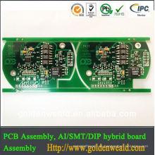 PCB Design und Montage Dip PCB Montage Electronic Design Service