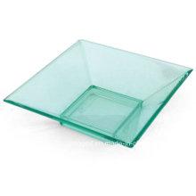 """PP / PS plato de plástico desechable platillo 3 """"plato cuadrado"""