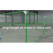PVC Temporary Fencing Hot Dipped Galvanized and PVC Coating Temporary Fence