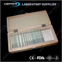 Storage box for glass slides Wooden material