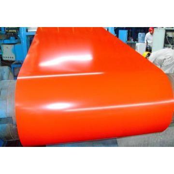 Placa de acero galvanizada caliente del DIP / hoja revestida del color Bobina / PPGI / SGCC