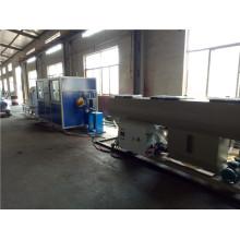 Línea de producción de alto rendimiento HDPE Pipe Extrusion Machine / Line