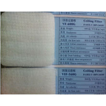 Spray Booth Filter Material, F5 ceiling filter