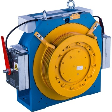 20 poler Gearless Hiss Traction Machine