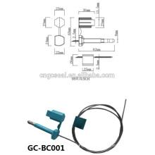 GC-BC001 doble fijación de sellos de alta seguridad envase