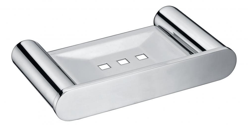 Soap dish with drain