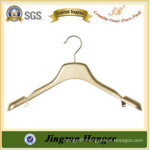 Alibaba Hot Product Gold Plating Hanger Plastic Clothes Hanger