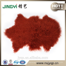 2017 China Suppliers upholstery Tibetan Mongolian Lamb Fur Sheep Mat