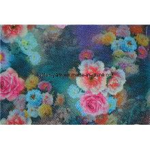 Tela personalizada decorada de linho do sofá dos descansos do poliéster tela colorida