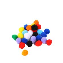 Factory sale Multi color 1cm-3cm polypropylene pompom Educational pompoms