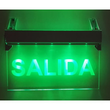 Exit Sign, Emergency Light, Emergency Exit Sign, Salida Exit Light