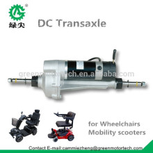Made in China electric DC motor transaxle for electric vehicles