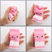 Jumbo Squishy Toy Kawaii Milch Cup Squeeze