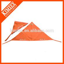 El triángulo personalizado del algodón de la cabeza imprimió el bandana barato