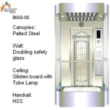 Glas Passagieraufzug Sightseeing Aufzug