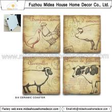 Factory Custom Ceramic Coaster with Any Size