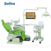 Krankenhaus oder klinisch montierte Dentaleinheit Dentalstuhl / Dentaleinheiten