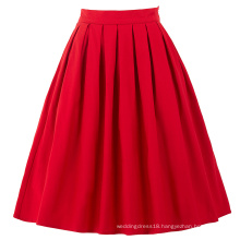 Belle Poque Red Vintage Skirts Pinup 50S 60S Skirts Summer BP000154-2