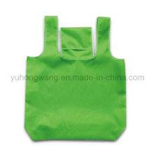 Customized Fold Drawstring Shopping Bag