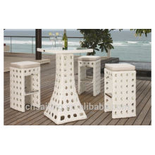 Luxury Durable Easy Cleaning fast food table and chairs