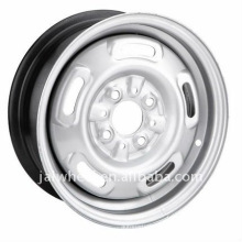 High Quality Low Price Silver Steel Wheel Rim for Passenger Car