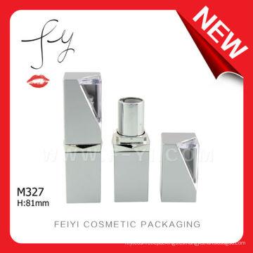 Nuevo tubo de lápiz labial cuadrado personalizado único