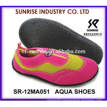 SR-14WA051 Fashion ladies wholesale water shoes water sport shoes aqua shoes water shoes surfing shoes
