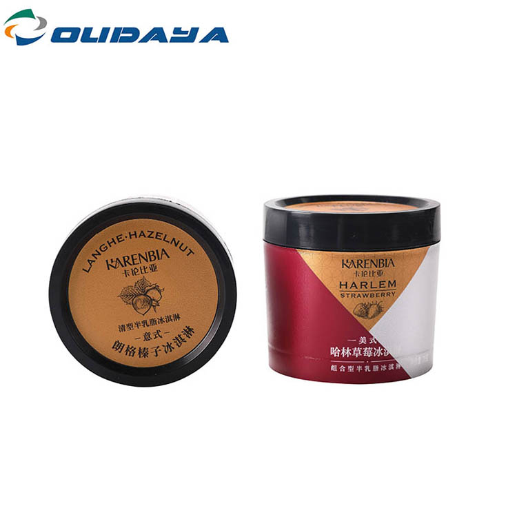 With Printing 100ml Cup With Lid