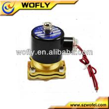 Válvulas solenóide de ar 12v de água de 12 polegadas