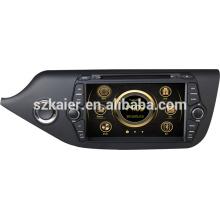Фабрика прямой автомобиль мультимедиа для Kia Ceed в 2014 с GPS/Bluetooth/Рейдио/swc/фактически 6 КД/3G интернет/квадроциклов/ставку/видеорегистратор