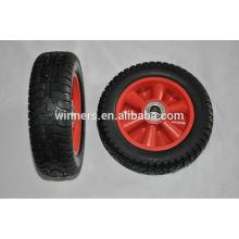2.50-4 8 pouces centre en acier Solid PU Foam Wheel
