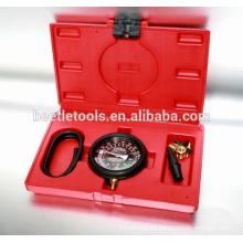 herramientas neumáticas de 8 piezas kit de detector de presión de vacío de herramientas de reparación de tipo de automóvil