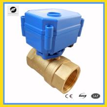 válvula automática de control de temperatura de agua 220v
