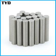 Ni-Cu-Ni Coating N50 Strong NdFeB Magnet Cylinder