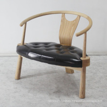 Classical Home Design Furniture Sofa Chair with Solid Wood Leg