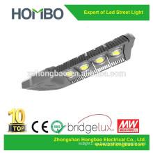 El cuerpo de aluminio de la lámpara 160w 200w llevó la luz ligera de la calle IP65 Bridgelux llevó la luz de calle