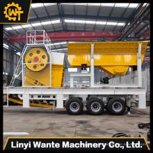 Fabrik Mini Mobile Crusher Bester Preis mit Full Service in Indien