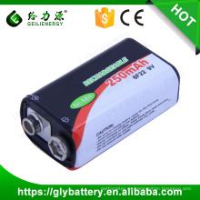 BF22 Batería NIMH recargable 9V 250mAh para control remoto