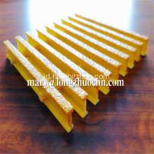 Industri Kuning Kisi FRP Grating Pultruded