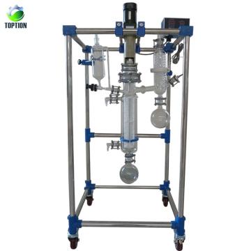 Evaporador de filme de limpeza por destilação a vácuo PWF70-4