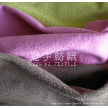 Home Upholstery Microfiber Suede Fabric for Sofa