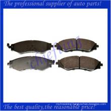 D902 S4510019 D1035 high quality brake pad for daewoo lanos