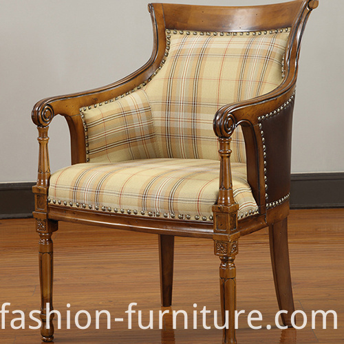 High Back Lounge Armchair