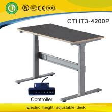 электрическое управление регулируемая по высоте стол рамка для взрослых ученический стол с двумя моторами ноги
