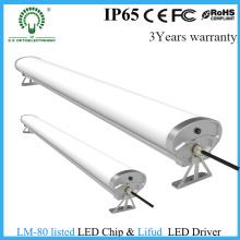 A microplaqueta 0.6 de Epistar Waterproof a luz Tri-Prova do diodo emissor de luz de 2FT / 4FT / 5FT China