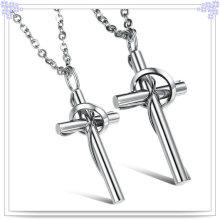 Accesorios de joyería collar de moda de acero inoxidable (nk361)