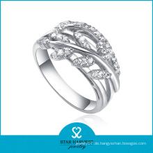 2014 Großhandelsart und weise Ringe mit CZ (SH-R0108)