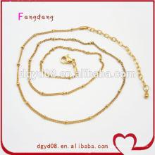 Preços baratos de correntes de ouro de fábrica de GuangDong